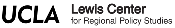 UCLA Lewis Center for Regional Policy Studies Logo