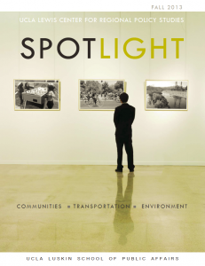 Fall 2013 spotlight cover