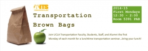 Transportation Brown Bag: Greg Pierce @ 5391 Public Affairs Building