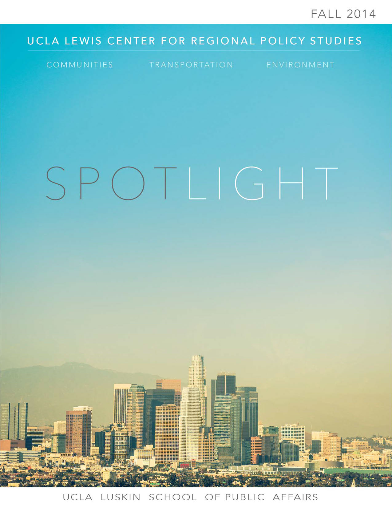 Spotlight 2013-14 Cover