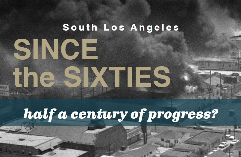 UCLA Luskin study documents lack of economic progress in South LA in 50 years since Kerner Commission