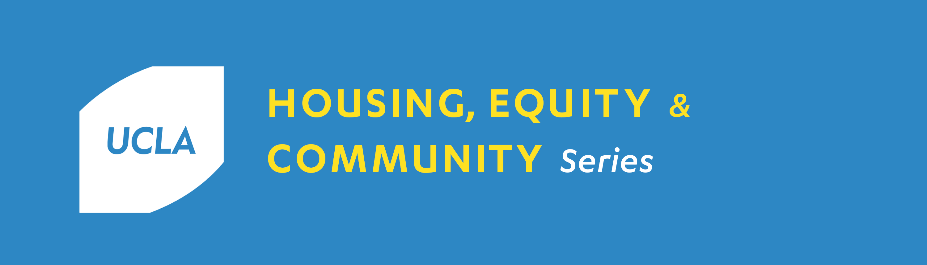 Videos: 2017-18 Housing, Equity, and Community Series